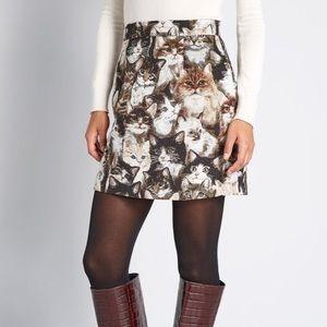 ModCloth cat skirt